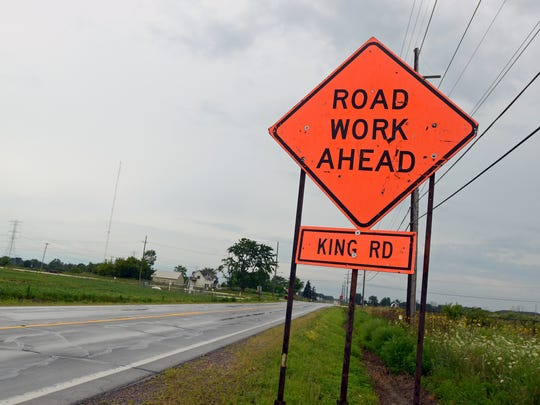 Rainy weather delayed the start of roadwork on M-25 will be delayed by several days in Sanilac County.