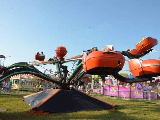 The Spider ride.