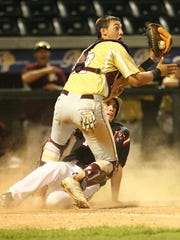 In this May 31, 2013 file photo, Drew Lugbauer, playing