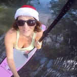 Video: Surfing Santas 2014