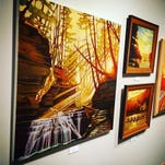 """The exhibit """"Heliodelic Topography, Expressions of Sun-Drenched Forms: The Art of Brian Keeler"""" continues at Roberson Museum and Science Center."""