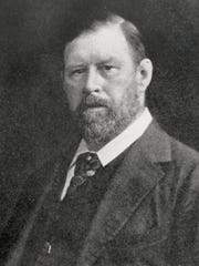 "Bram Stoker, while writing his classic novel ""Dracula,"" worked as the business manager for Sir Henry Irving."