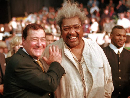 Bob Arum, left, has had many foils throughout his lengthy career, including Don King.