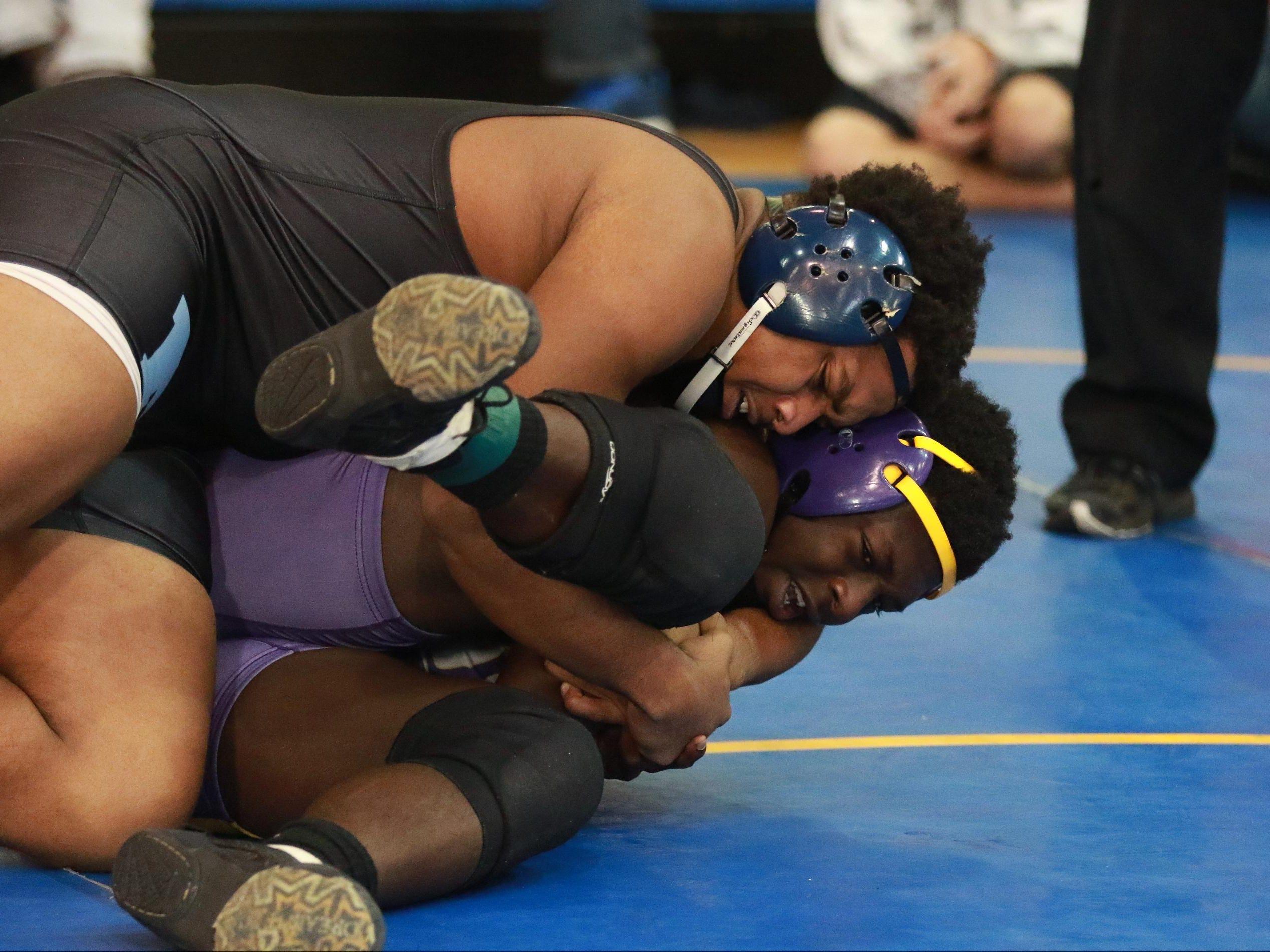 JL Man's Raitavius Whitner placed third in the Eastside Southern Slam Wrestling tournament Saturday.