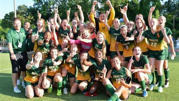 Reynolds won the NCHSAA 3-A girls soccer championship last spring.