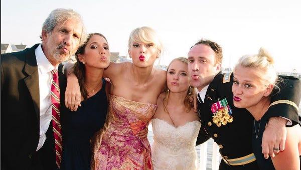 Taylor Swift surprised fans at LBI wedding