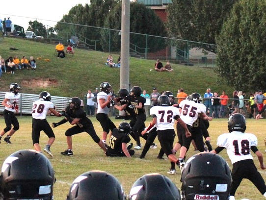 Fairview Middle School Falcons battle with Charlotte