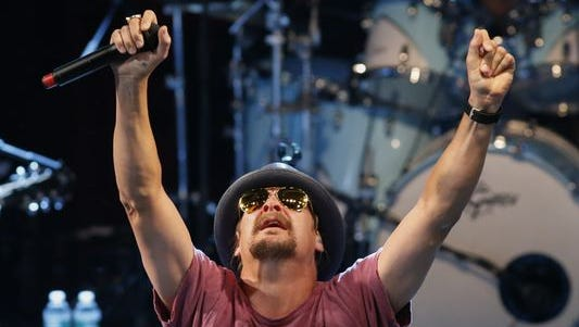 Kid Rock performs at the Live Nation Celebration of National Concert Day at Irving Plaza on May 5, 2015 in New York. (Photo: Kena Betancur, AFP/Getty Images)