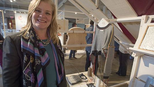 Stephanie Moore, executive director of the Center for Craft, Creativity & Design, helped produce an exhibition of 24 regional makers, 'Made in WNC,' that will travel to New York City in spring.