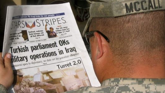 "The Defense Department proposed eliminating ""Stars and Stripes"" federal funding, but the publication got a reprieve as President Donald Trump has vowed to protect the newspaper."