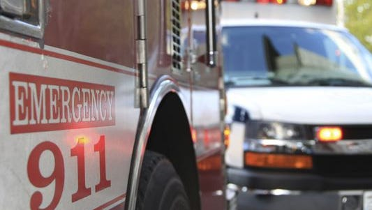 Three people were injured Monday in a two-vehicle accident on Indiana 28 near County Road 300 East.
