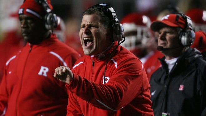 Former Rutgers coach Greg Schiano will be wearing a different shade of red as Ohio State's defensive coordinator.
