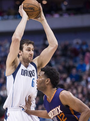 Andrew Bogut appeared in 26 games for the Dallas Mavericks this season.