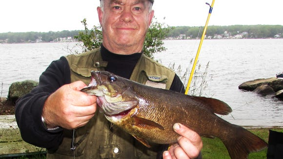 This porky smallmouth bass is one of my best yet.