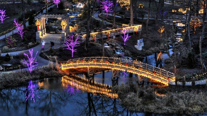 Christmas Town at The Creation Museum in Petersburg runs daily from Dec. 16-23 and Dec. 26-30.