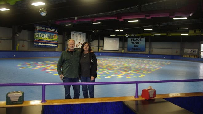 Brian and Alison Leentjes, owners of the Castle Fun Center in Chester, plan to replace the roller rink at the center with an InflataPark. A petition against that has garnered nearly 1,400 signatures.