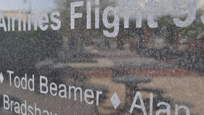 Todd Beamer's name is among those on the walls at First Responders Park in Hilliard, honoring and memorializing the 2,977 people killed in the 9/11 terrorist attacks.