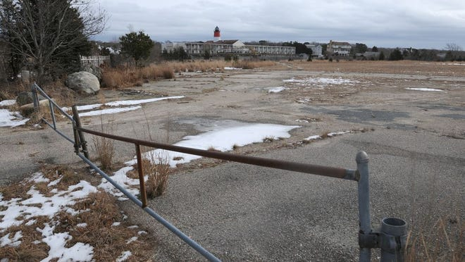 The former Yarmouth Drive-In property on Route 28 in West Yarmouth in Feb. 2018. Merrily Cassidy/Cape Cod Times file