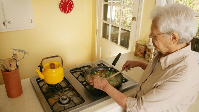 Never leave cooking food unattended. If you have to leave, even for a short time, turn off the stove.