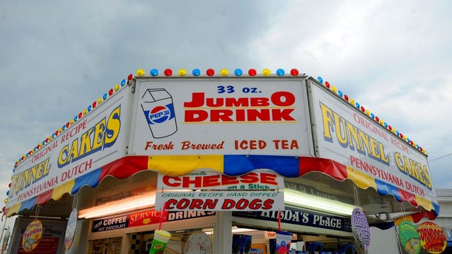 One of the food vendors at a previous Monroe County Fair.
