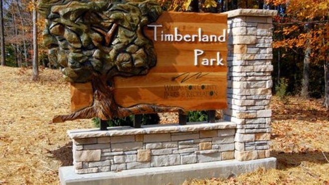 Timberland Park is located at mile marker 437.2 on the historic Natchez Trace Parkway, a National Park Service property.