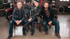 Mike Wolfe, Danielle Colby and Frank Fritz star on