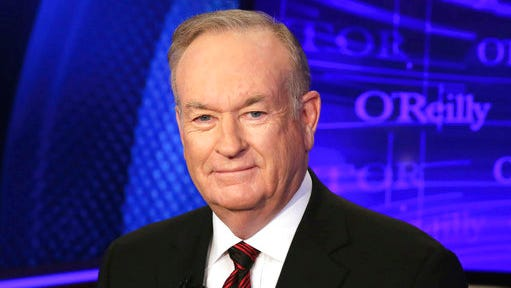 "FILE - In this Oct. 1, 2015, file photo, Bill O'Reilly of the Fox News Channel program ""The O'Reilly Factor,"" poses for photos in New York. O'Reilly is reportedly in line to get up to $25 million following his ouster from Fox News amid allegations of sexual harassment, only the latest in a long line of big payouts made to celebrities and executives as a way to grease the exits."
