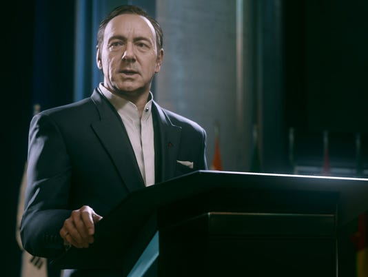 Kevin Spacey answers 'Call of Duty'