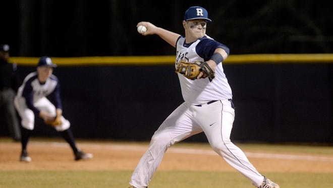 Roberson's Trenton Davis has committed to play college baseball for Campbell.