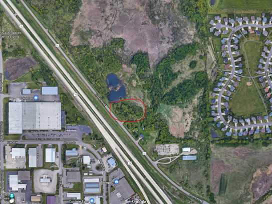 Location for new Quarry Village Apartments in Sauk