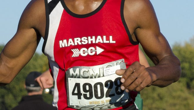 File: Chris Bell of Marshall.
