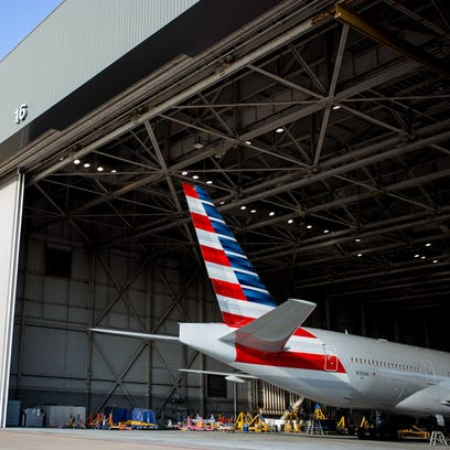 The fleet and hubs of American Airlines, by the numbers