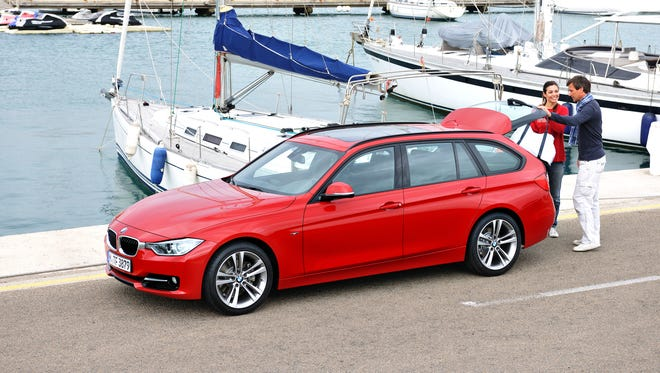 BMW's 328d Sports Wagon starts at $44,400. whic is $1,300 more than the gasoline version.,