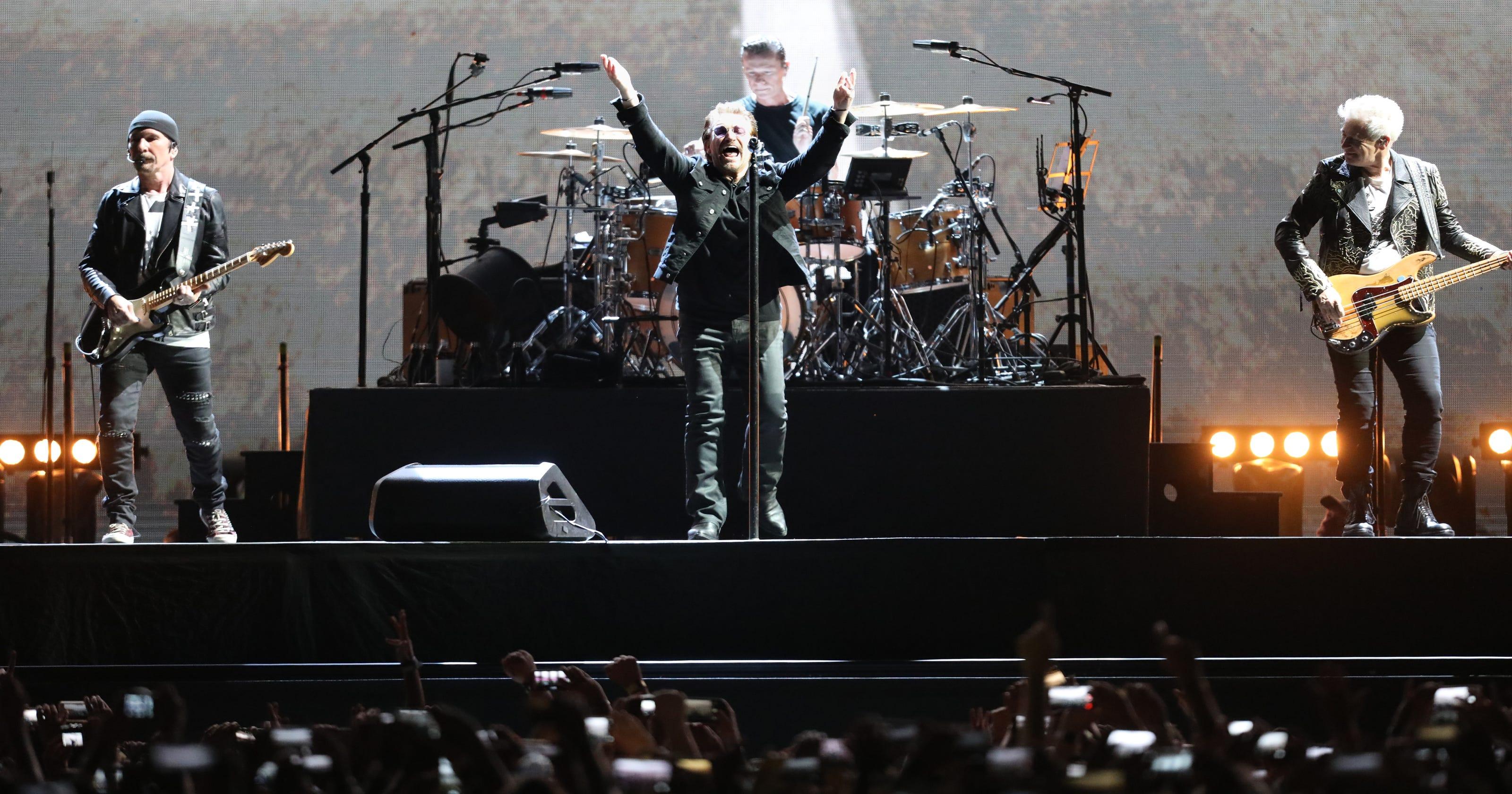 Review: U2 The Joshua Tree Tour 2017 at MetLife Stadium
