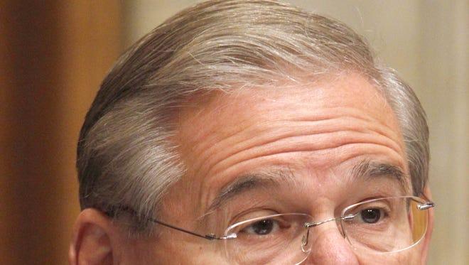 Senate Foreign Relations Committee member Sen. Robert Menendez, D-N.J., speaks on Capitol Hill in Washington, Wednesday, Sept. 29, 2010.