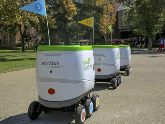 Self Driving Snack Delivery