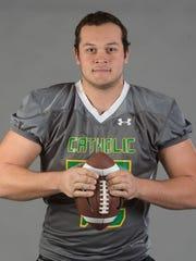 OL All-Area Ethan Watson, Catholic High School