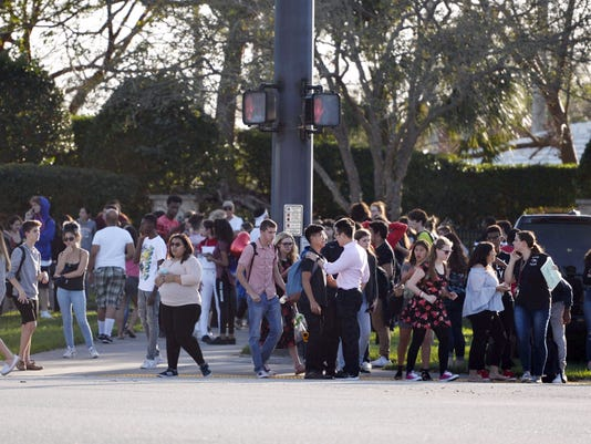 USP NEWS: PARKLAND SCHOOL SHOOTING A USA FL