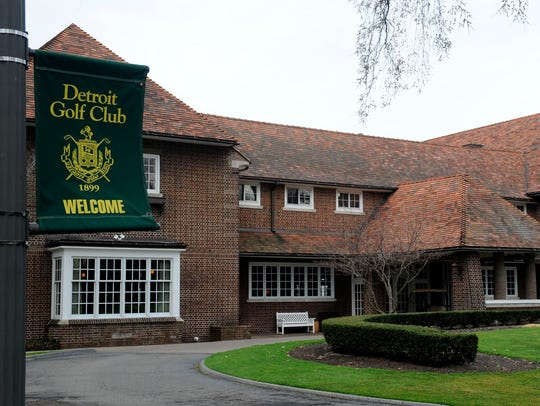 The Detroit Golf Club is south of Seven Mile, between