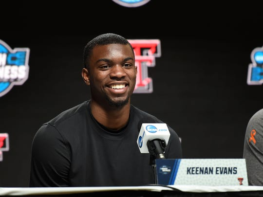 Pistons two-way contract guard Keenan Evans will miss summer league with a foot injury suffered during his senior season at Texas Tech.