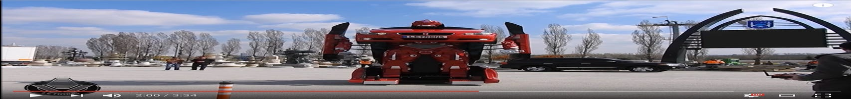 Video: Real-life Transformer built by Turkish company