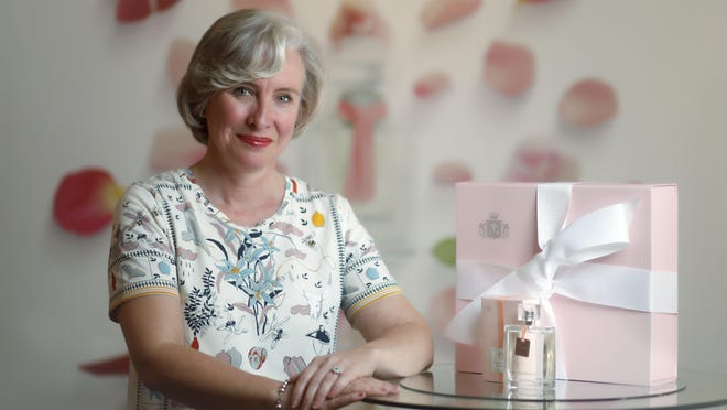 Isabelle Ramsay-Brackstone is Lili Bermuda's owner and master perfumer. She makes all the perfumes in the store.