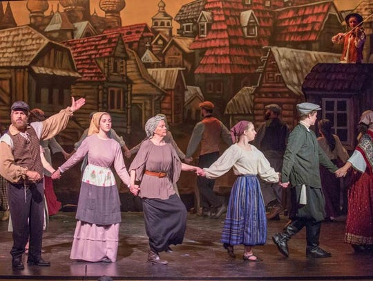 """Fiddler on the Roof"" is playing at Waynesville's HART"