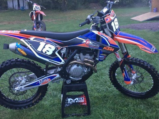 One of three dirt bikes reported stolen this weekend