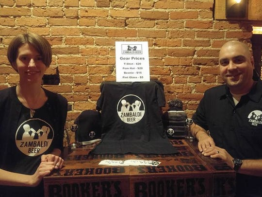Abby and David Malcolm have launched Zambaldi Beer and plan to open a brewery and tap room in Allouez.