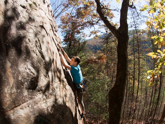 Obed Climbing 3