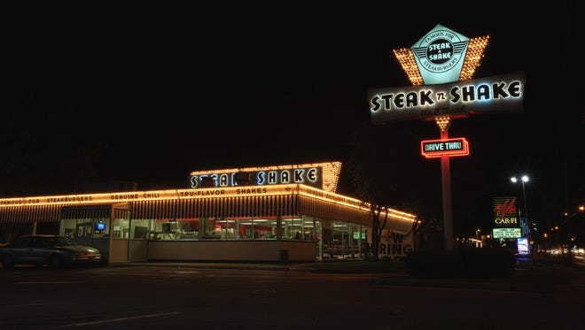 Retro milkshakes and burgers come in no short supply at Springfield's Steak n' Shake. It officially opened for business in 1962, and the vivacious neon has not dimmed since.