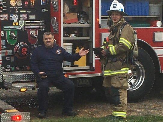 Robert Biesecker, Waynesboro, worked as a firefighter