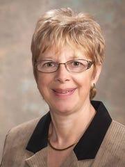 Marshfield School Board President Marlene Stueland