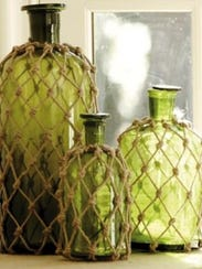 Hippie macrame bottles will be the subject of April's